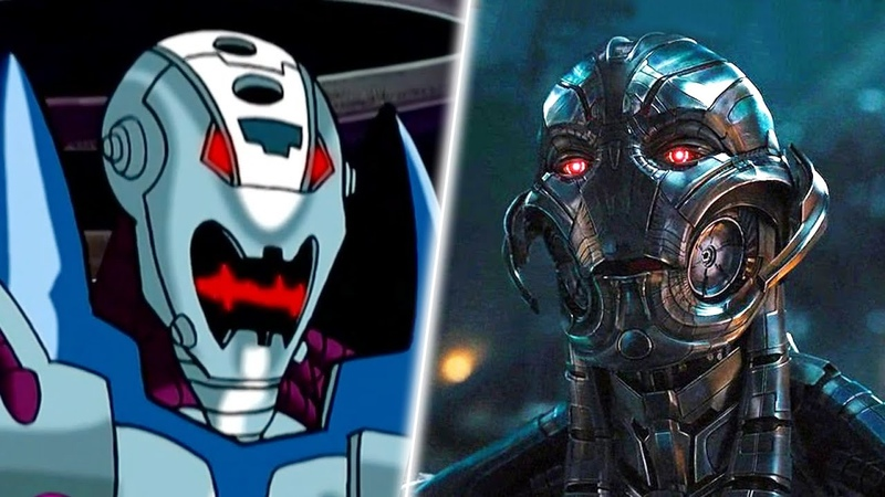 Evolution of Ultron in Cartoons, Movies TV in 8 Minutes (2018)