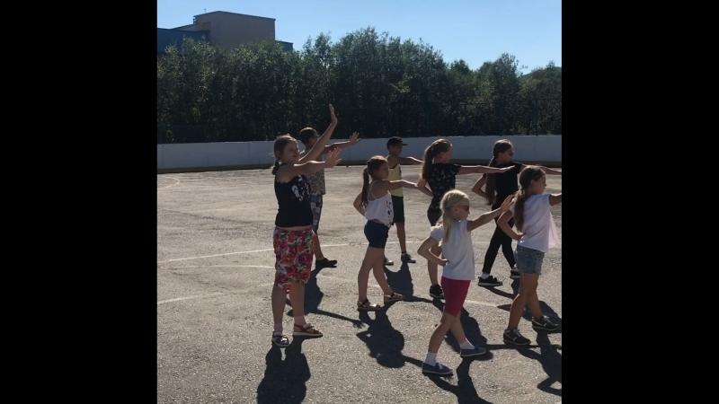 Школа летнего творчества (смена 3). Танцы на улице