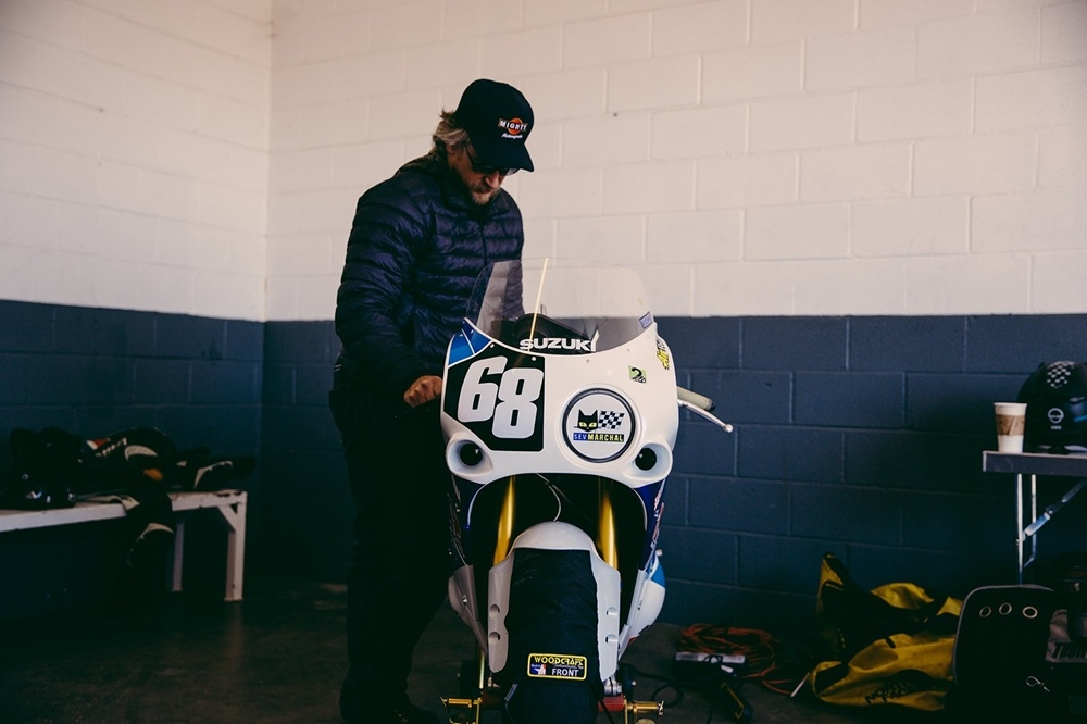 Super8cycles: гоночный мотоцикл Suzuki GSX-R750