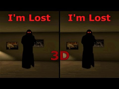 3D VR horror video I'm Lost 3D SBS VR box google cardboard