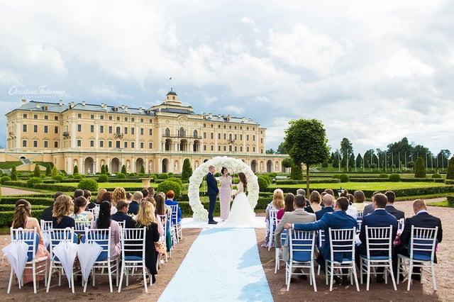 Свадебный день Константина и Ирины в Константиновском дворце