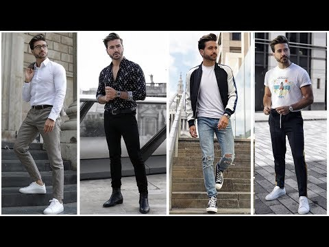 4 EASY AMAZING OUTFITS FOR MEN | Men's Fashion Inspiration Lookbook | Alex Costa