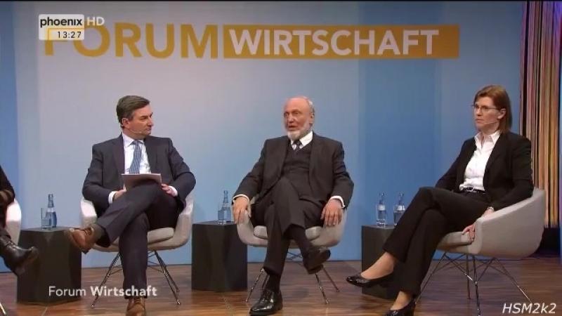Prof- Hans-Werner Sinn- -Die Finanzkrise schwillt weiter unter dem Teppich-