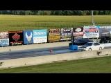 Dodge Challenger Hellcat против старого Mitsubishi Galant