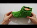 Manidar patik modeli yapılışı sesli anlatım 1.videoipeksiidokunuslar patik modeli