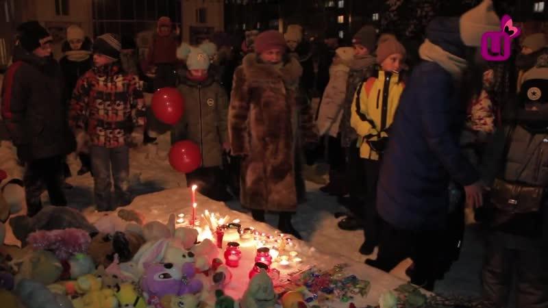 В Междуреченске скорбят по погибшей под колёсами спецтехники семилетней девочке