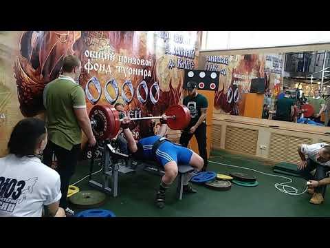 Варварин Олег жим лежа 182.5 кг
