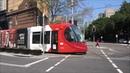 Light rail tram in Sydney Tramway CAF Urbos Straßenbahn Villamos