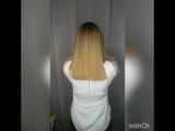 Нахлестное насыщение волос для Марины!