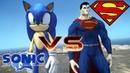 Superman vs Sonic the Hedgehog - Epic Battle