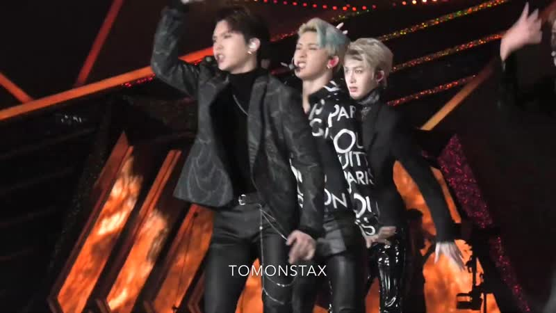 [VK][190115] MONSTA X fancam - Shoot Out (Kihyun focus) @ 28th Seoul Music Awards
