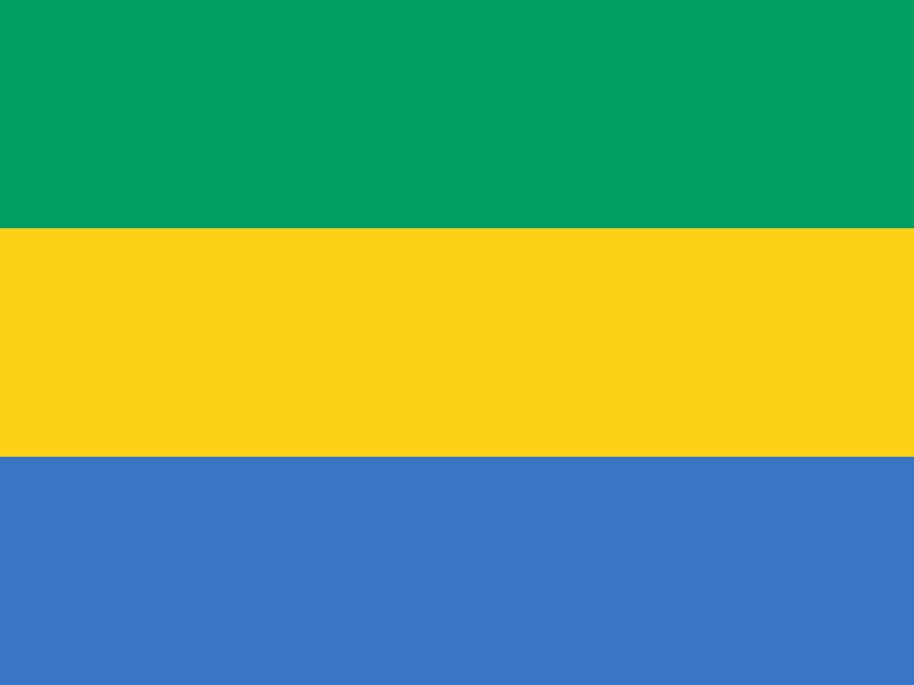 Флаг Габон
