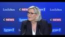 Aquarius pour Marine Le Pen Emmanuel Macron est immigrationniste