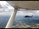 Black Hawk Intercepts a Cessna 182