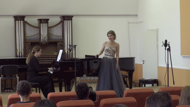 А. Скарлатти - Se Florindo e fedele. Исполняет Ирина Хеллат.
