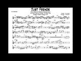 Just Friends - Charlie Parker's Alto Sax Embellished Melody Transcription