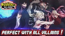 A PERFECT WIN WITH EVERY CHARACTER IN THE ROSTER *VILLAINS EDITION* My Hero Academia One's Justice