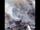 В Гавани Беноа сгорели четыре десятка кораблей