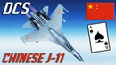 DCS: 6 Kills Ace in a Flight - Chinese J-11 Online PvP Action
