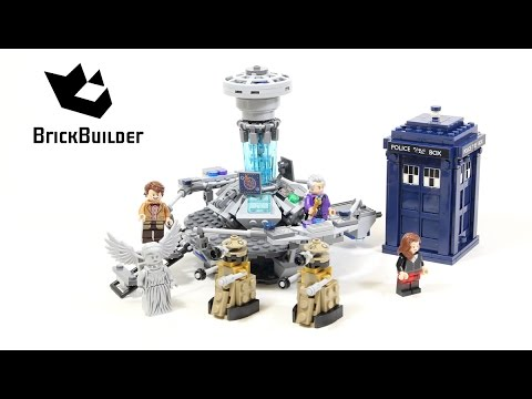 Lego Ideas 21304 Doctor Who Lego Speed Build
