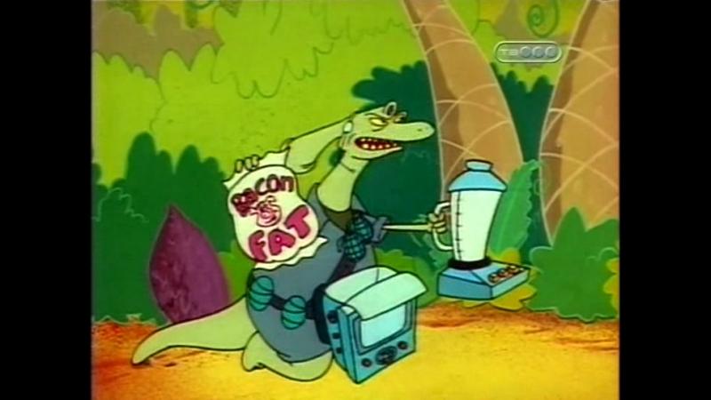 Кот Ик и ужасные Громозавры Сезон 3 Эпизод 5 Ик в гостях у своих создателей