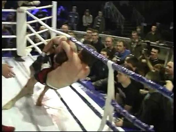 Воля к победе- Боец после нокдауна вырвал победу-2012