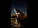 Разведение Троицкого моста в Санкт Петербурге