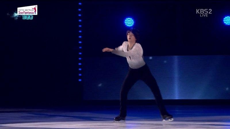 Ex.Gala 05. Junhwan CHA (KOR) Il Postino [The Postman Soundtrack] | 2018-04-21 LG Ice Fantasia Show