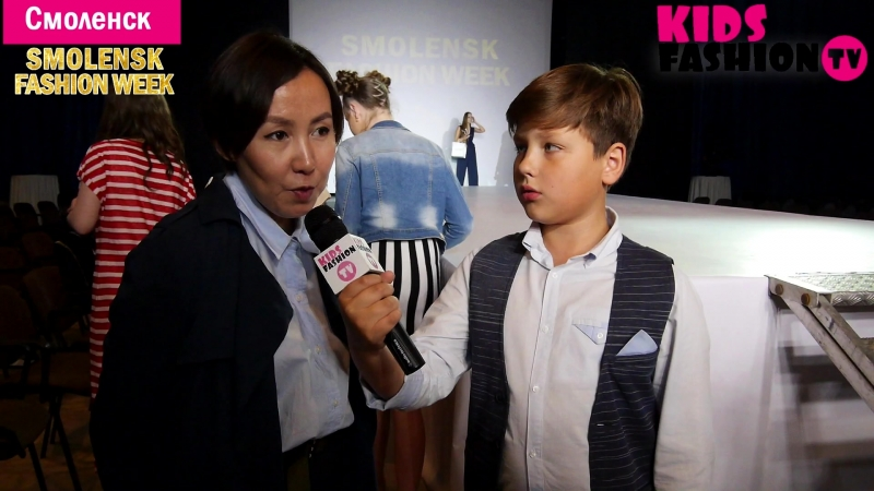 Показ коллекции дизайнера PRASKOVYA г Якутск Smolensk Fashion Week 2018 репортаж от Kids Fashion TV