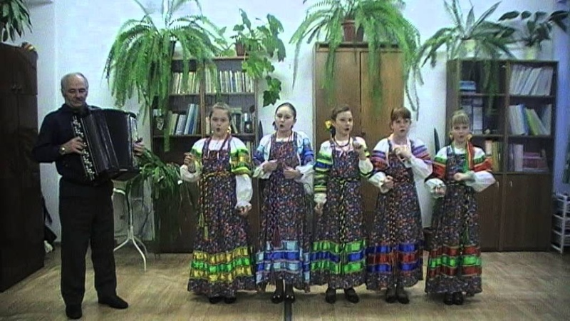 Комар шуточку шутил детский фольклорный ансамбль Зоренька