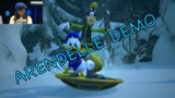 Kingdom Hearts 3 - Arendelle Trinity Sled &amp Battle TGS 2018