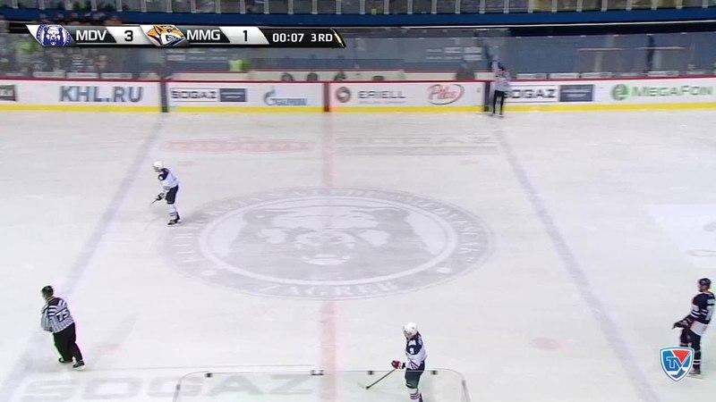 Моменты из матчей КХЛ сезона 14/15 • Гол. (4:1). Квапил Марек (Медвешчак) забросил шайбу и принес победу своей команде. 02.10