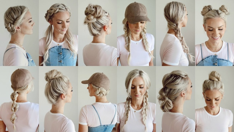 12 Easy Gym/Workout Hairstyles