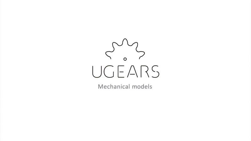 3D пазл от UGEARS Mechanic Models