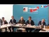 PK AfD Fraktion im BT. U.a. Europa souver