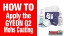 How to apply the GYEON Q2 Mohs Ceramic Paint Coating