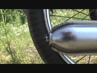 РИГА-13 Тест-драйв и обзор Советского мопеда