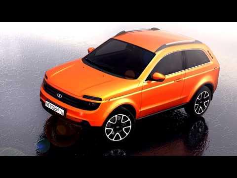 Новинки АвтоВАЗа Лада Нива 4х4 концепт Lada Niva 4х4 concept