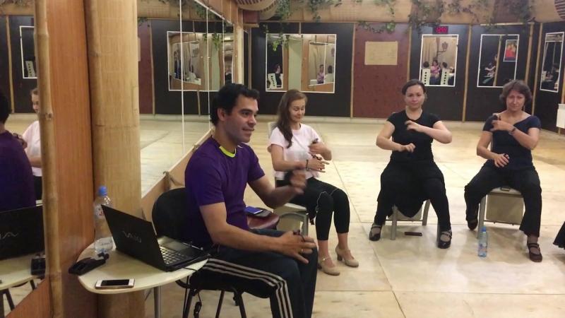 Интенсивные выходные с кастаньетами и Juan Diego Fernandez