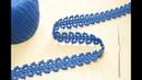 Ленточное кружево вязание крючком мастер-класс crochet lace