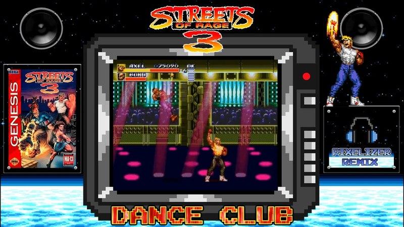 Streets Of Rage 3 - Video - Dance Club - Sega Mega Drive - Pixelizer REMIX