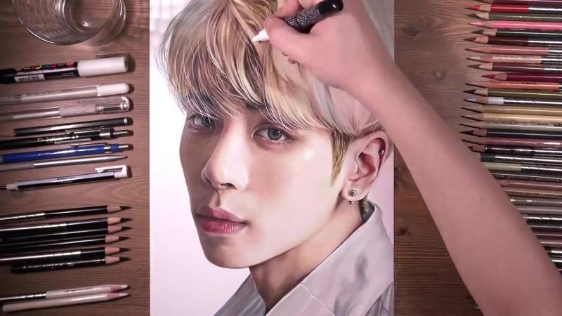 SHINee - Jonghyun by drawholic