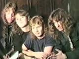 Metallica -Whiplash (with Dave Mustanie &amp Cliff Burton)