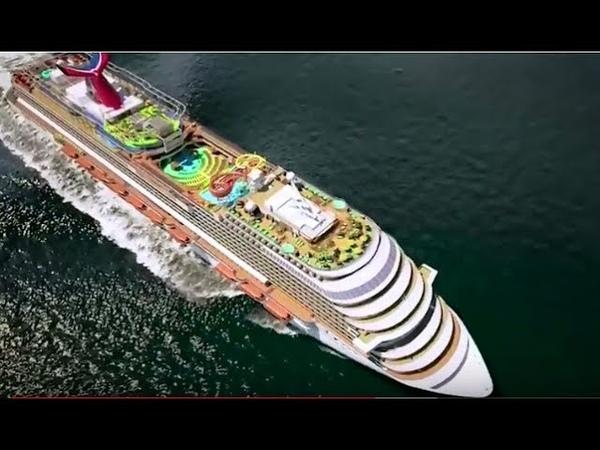 Carnival Vista Роскошный Круизный Лайнер!