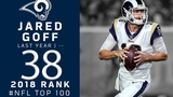 #38 Jared Goff (QB, Rams) Top 100 Players of 2018 NFL