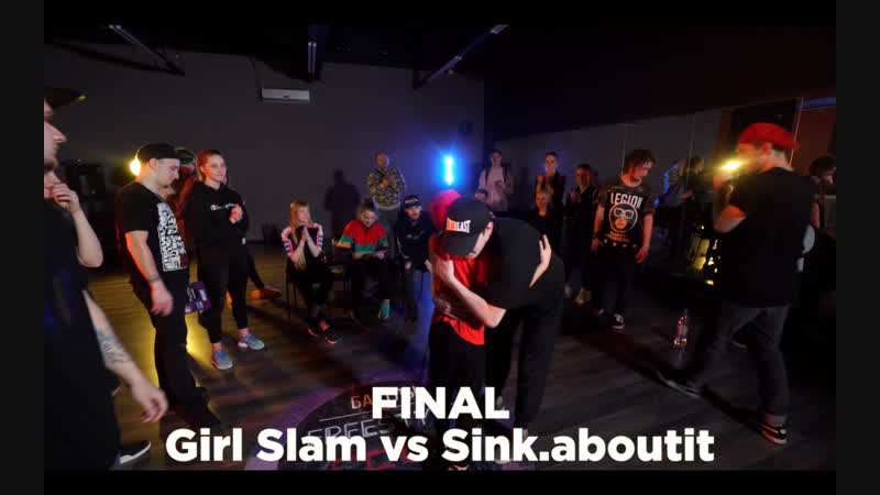 All Styles | Girl Slam vs Sink.aboutit | FINAL | FREESTYLE FEST 2018