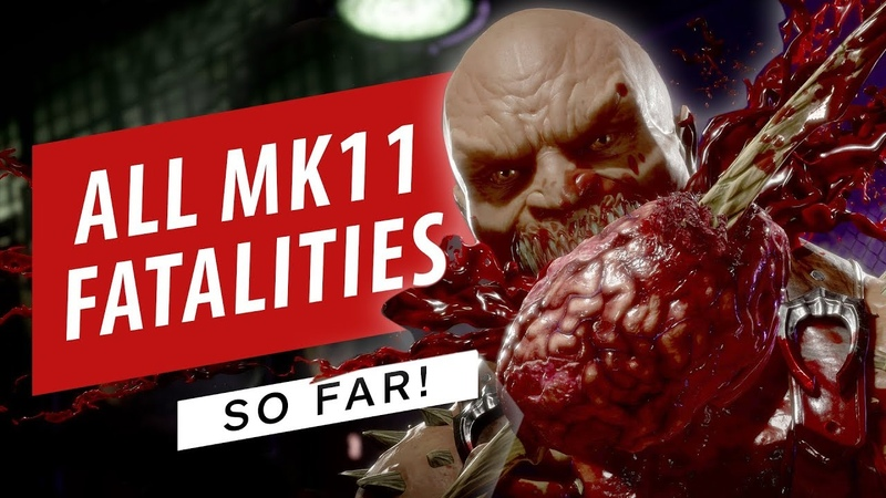 Mortal Kombat 11 All Fatalities and Fatal Blows in 4K 60fps (So Far)