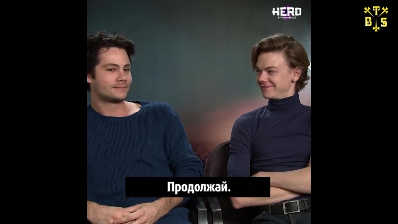 [TBSubs] Интервью Question Con с кастом Maze Runner: The Death Cure (Дилан, Томас, Кая) (рус.саб)