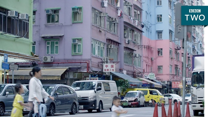 People living in tiny spaces - Hong Kong: World's Busiest Cities   BBC Two