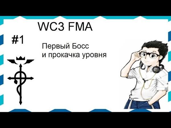 Прохождение WC3 FMA 1 Прокачка персонажа и первый босс P s моя рожа
